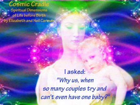 """""""I woke with a start on Sunday at exactly 4 am with a message from a booming voice:  'You will have more children.''"""""""
